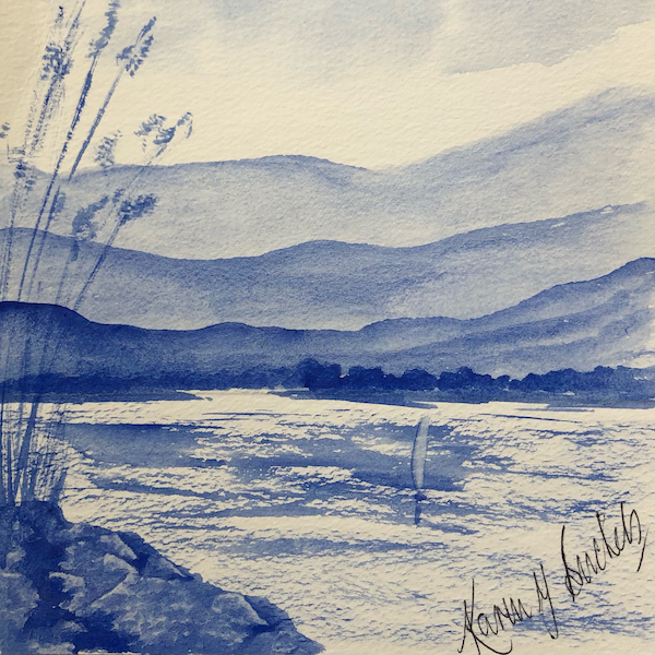 Learn to paint with watercolours